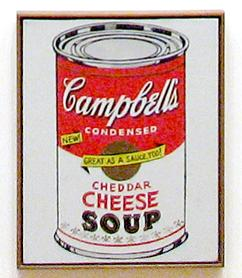 Campbell Soup Graphic Design