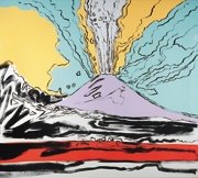 Vesuvio, 1985 Collezione Ernesto Esposito, Napoli © The Andy Warhol Foundation for the Visual Arts Inc, by SIAE 2013
