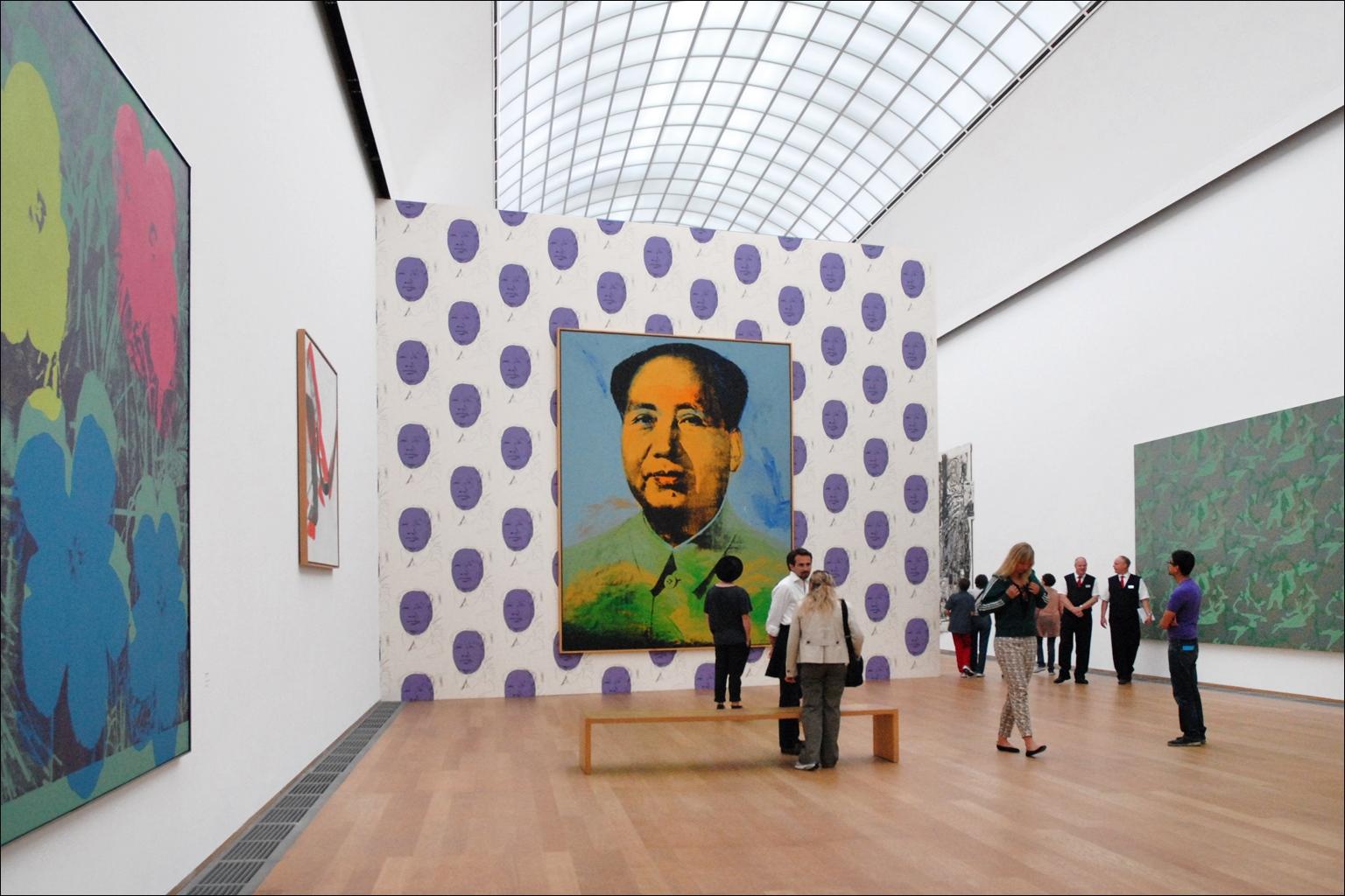 Opere di Andy Warhol - Mao Tse Tung