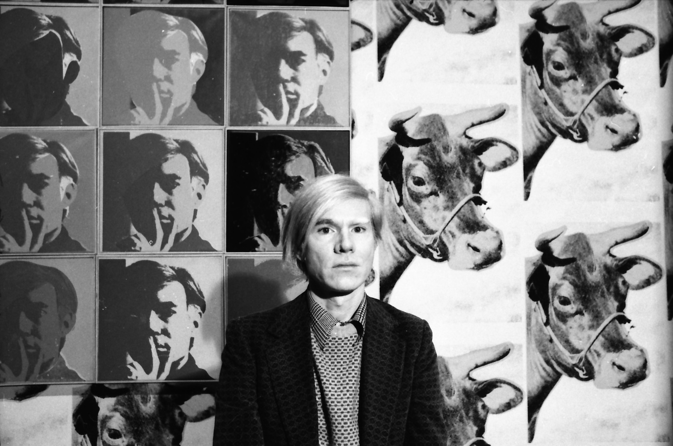 Andy Warhol - Self Portrait - Caw