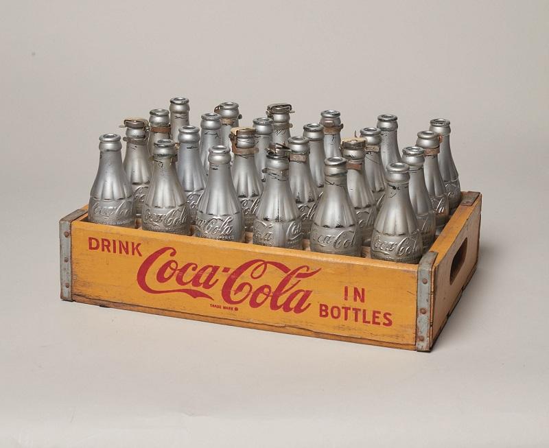 Cassetta di Coca Cola Silver Opera di Andy Warhol