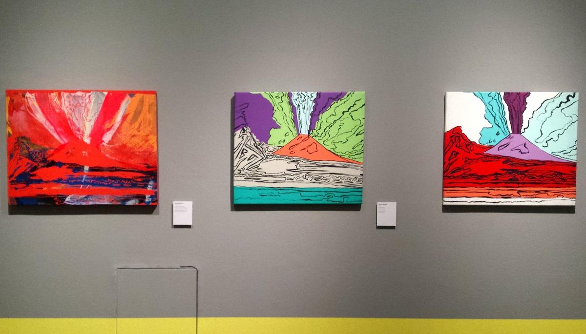 Opere Vesuvius di Andy Warhol