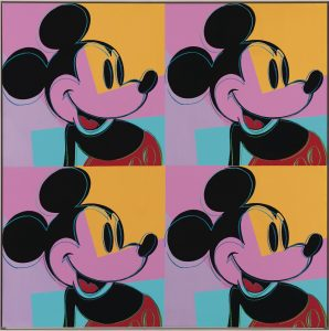 Opera 4 Mickey Mouse - Andy Warhol