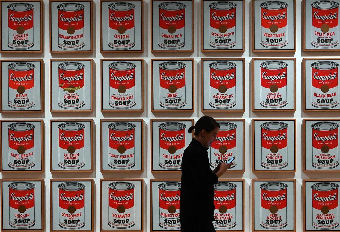Andy Warhol Cambell's Soup Cans