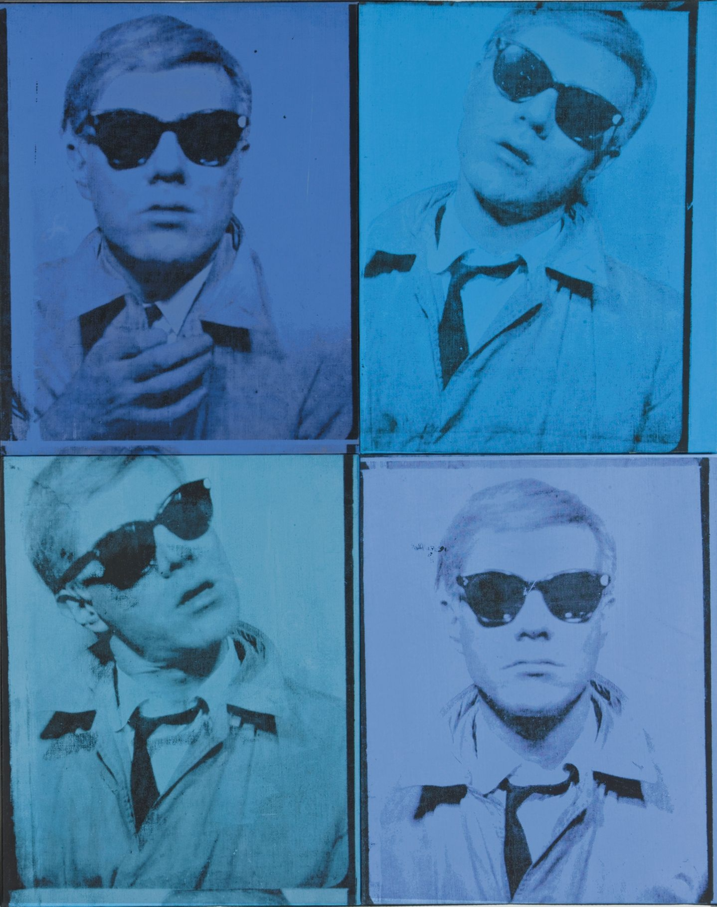 Self Portrait - Andy Warhol - 1963-1964